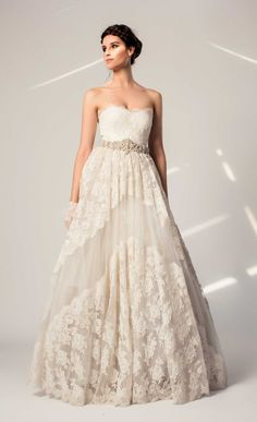 TEMPERLEY London | Bridal Collections/Summer 14 | Clematis Dress