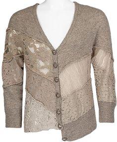#Farbbberatung #Stilberatung #Farbenreich mit www.farben-reich.com BKE Boutique Pieced Cardigan Sweater