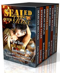 Monlatable Book Reviews: Sealed With a Kiss Anthology