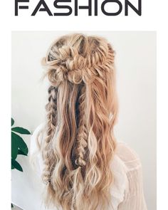 Boho with braids and waves