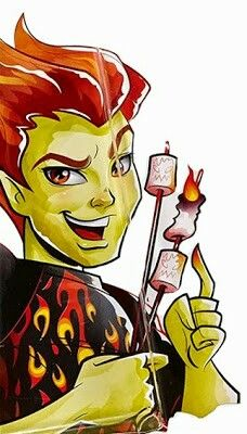 Heaty burns ghoul fair artwork