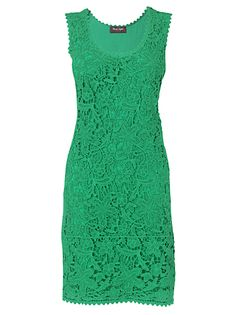 Loving this lace shift dress!