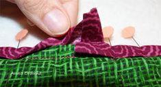Anna Orduña - Mi Rincón de Patchwork: Tutorial: Bies simple para Quilts rectos Fingerless Gloves, Arm Warmers, Anna, Tutorials, Ideas, Purse, Quilt Blocks, Bedspreads, Sewing