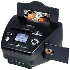 Escáner de fotos y negativos Pics 2 SD de Ion Audio   Tecniac