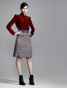 The Right Touch: Fall Skirts... Chloe Fall '13