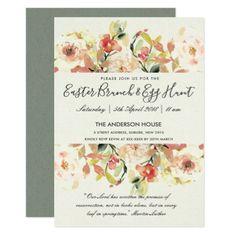 Modern watercolor boho lemon wedding favor tote bag romantic peach watercolor floral easter brunch egg hunt card elegant wedding gifts diy accessories ideas negle Images