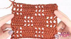 Crochet Filet Squares Stitch Sweater Tutorial