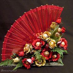 trendy Ideas for chocolate diy hands Diy Bouquet, Candy Bouquet, Bouquets, Candy Flowers, Paper Flowers, Diy Flowers, Paper Peonies, Chocolate Flowers Bouquet, Candy Arrangements