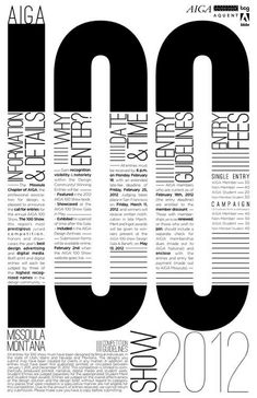 50 Ultra Creative Typographic Poster DesignsYou can find Type posters and more on our Ultra Creative Typographic Poster Designs Design Vector, Graphisches Design, Book Design, Layout Design, Print Design, Design Ideas, Shape Design, Type Posters, Cool Posters