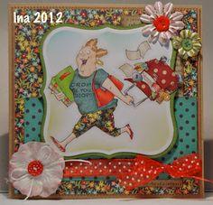 Art Impressions: Cropper (Sku#U4092)  Handmade scrapbook/card maker card.