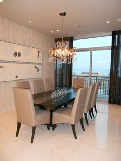 Wells Street Penthouse Dining Room-Design by Caryn Arriaga