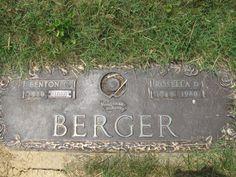Benton Calvin Berger (1919 - 2010) - Find A Grave Photos Grandpa Berger and Grandma Berger