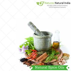 Enjoy the Rich Flavour & Aroma of Natural Spice Oils!!