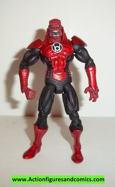 dc direct ATROCITUS 3.75 inch sdcc exclusive comic con 2012 red green lantern complete 3/4 infinite heroes universe collectables