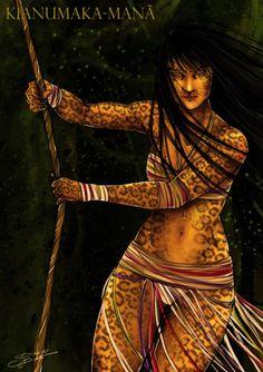 Kianumaka-Manã – A Deusa Onça