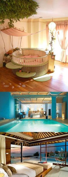 love the 1 one. Wait is the 3 one a beach bedroom!!! Amazing!!!!!!!!!!!