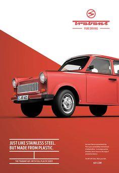 Brilliant Ads Poke Fun at the Trabant | MASHKULTURE