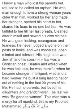 I love my Prophet & Guide, Prophet Muhammad Sallallahu Alayhi Wasallam <3