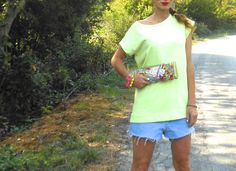 #outfit #style #bijoux #colors #jewels #blogger #summer #earrings #girl #summer #outfit #sporty #neon #fluo #hangover #fun #pochette #clutch #braceltes #wedges #ribbons #sportylook #sportyfashion #inspiration #fashonblog #fashionblogger #fashionbloggeritaly