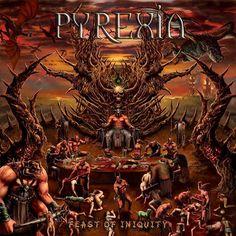 THRASHDEATHGERA: Pyrexia - Feast Of Iniquity (2013) | Death Metal