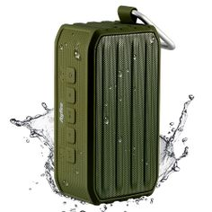 Ayfee Portable Bluetooth 4 0 Waterproof Speaker With 7w Drives And Pive B Radiator