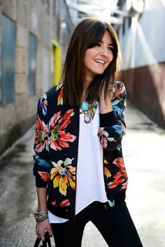 blossom sexy jacket for summer look