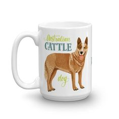 RED IS THE NEW BLUE. We want to make sure our red heeler friendshavetheir very own mug for their very own 15oz of piping-hot fun.We cannot overstate the qual