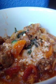 Nourished and Nurtured: Grain-free Skillet Lasagna