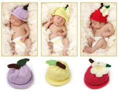 Preemie Fruit Orchard Hat (Charity) ~ DARLING!!!
