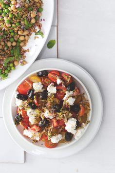 Tahle salátová variace na středomořské téma nesmí na žádné grilovačce chybět! Ricotta