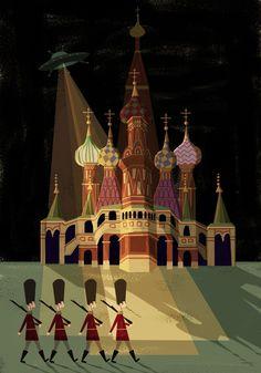 UFO, Russia, by Josie Portillo.