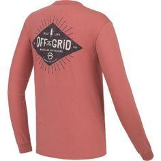 Magellan Outdoors Men's Off the Grid Long Sleeve Pocket T-shirt