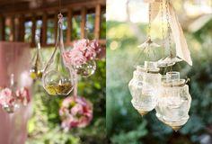Cristales colgantes - Hanging vases