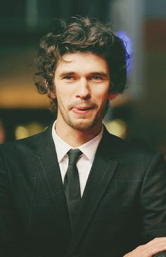 cartoon-heart: favourite pictures of Ben Whishaw: 35/50