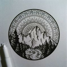 #iblackwork #linework #ink #nature #illustration #alucinori Also, featured by @insta_blackwork , go check them out :)