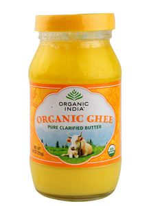Organic India Organic Ghee Pure Clarified Butter from Desi Cows grass fed