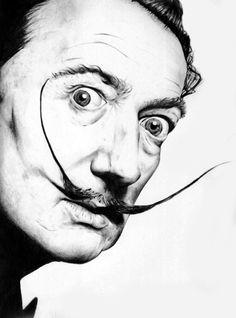 Dali Dali Artwork, Demon Days, Nice Face, Movember, Salvador Dali, Interesting Faces, Best Artist, Amazing Art, Masters