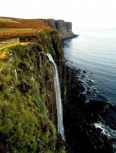 Écosse, Isle of skye, Cascade de Kilt Rock ~ fait 08.2009 ♥