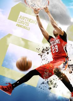 Anthony Davis NBA New Orleans Pelicans wmcskills