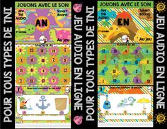 2016_profnumeric_growingbundle_23octobre_publie_005 French Immersion, Internet, France, French Language, Jouer, Anchor Charts, Fathers Day Gifts, Kindergarten, Audio
