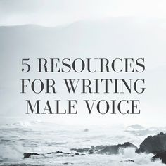 I was a little surprised when a literary agent told me I write the male voice better than female voice. Perhaps I shouldn't have been, though, considering I used to always choose male characters fo…