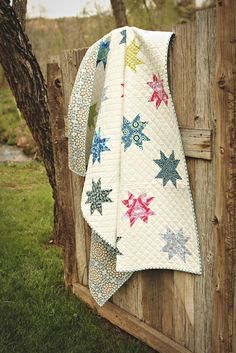 Favorite Quilts | A Quilting Life - a quilt blog Stars over Iowa quilt from the Book Fresh Family Traditions by Sherri McConnell #starquilt