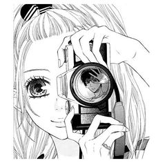 ٩(๑• -๑)۶ ANIME IlLUSTRATION ❤ liked on Polyvore featuring anime, manga, drawings, girls and filler