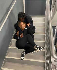 Cute Couple Selfies, Matching Couple Outfits, Cute Couple Pictures, Couple Photos, Cute Black Couples, Black Couples Goals, Cute Couples Goals, Couple Goals Relationships, Relationship Goals Pictures