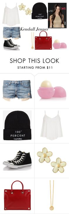 """""""Kendall Jenner inspired!"""" by munchkinzarry ❤ liked on Polyvore featuring rag & bone, Eos, The Laundry Room, Converse, Marc by Marc Jacobs, Valentino, 7 For All Mankind, Inspired and kendalljenner"""