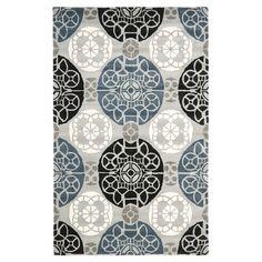 Laissez libre cours à vos envies d'exotisme! Dans la chambre ou le salon, ce tapis infuse une note ethnique et raffinée. Il rehausse votre intérieur c...