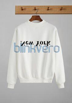 upside down new york shirt girls and mens sweatshirt unisex //Price: $23 & FREE Shipping //     #gift shirts