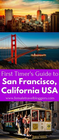 Are you planning a trip to San Francisco, California? If so, you have to check out this San Francisco guide that covers the best places to eat in San Francisco, things to see in San Francisco, and much more. Click on the pin to check it out and don't forget to save this to your travel board so you can easily find it. #sanfrancisco #california #sanfranciscocalifornia