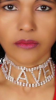 Rhinestone Choker Necklace, SLAVE, Silver - Click picture TWICE to order & see pricing Rhinestone Choker, Crystal Jewelry, Chokers, Imvu, Diamond, Lady, Silver, Universe, Drawing