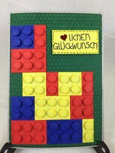 #Bauklotz Karte, Kinder Geburtstag, children birthday #StempelSissi #Sissi_s_kreatives_Kämmerlein